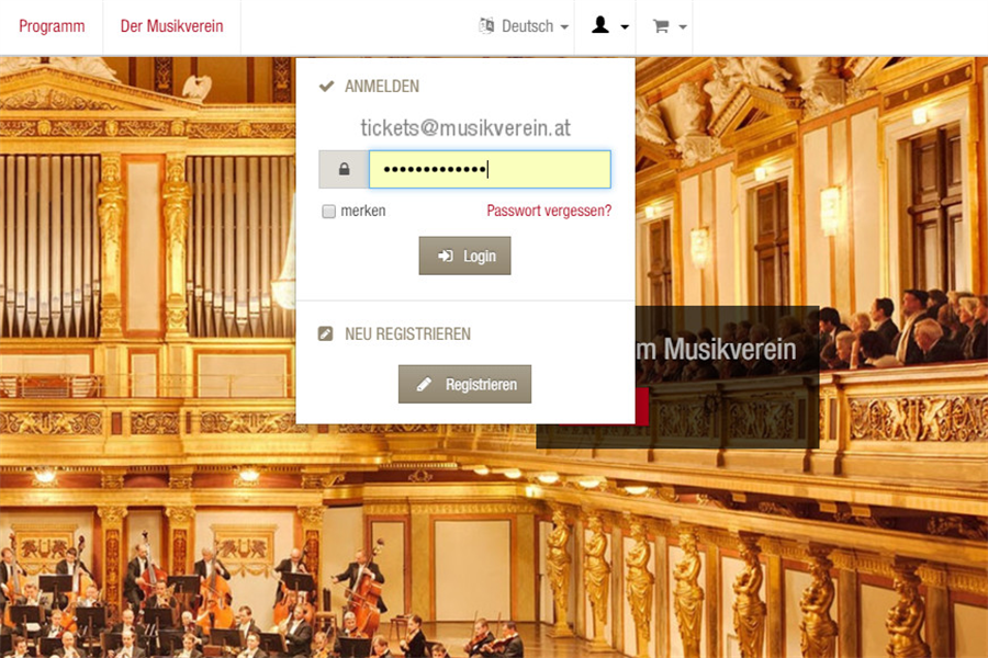 Musikverein Ticket Purchase